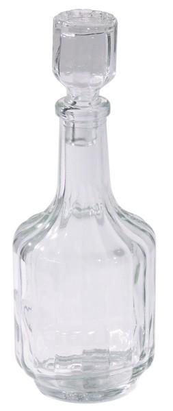 Ersatzflasche Öl/Essig mit Stöpsel zu Menage Salz/Pfeffer, Essig/Öl, Senf