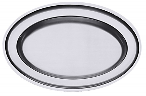 Bratenplatte, oval 51 cm