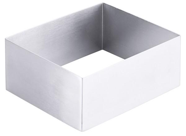 Schaumspeisenform, rechteckig 12 cm x 10 cm