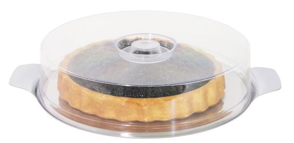 Tortenplatte mit Haube 30 cm