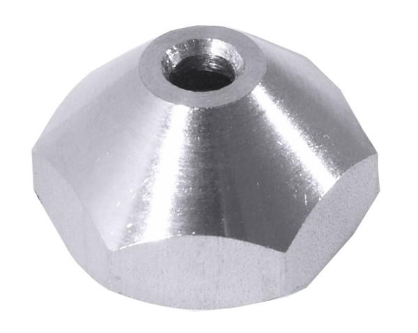 Ersatzschraube mit 4 mm Durchlass für Fondant-/Likörtrichter