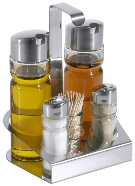 Ersatzglas Zahnstocher für Menage Salz/Pfeffer, Essig/Öl, Zahnstocher