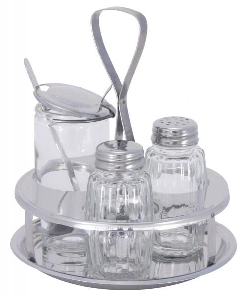 Menage Salz/Pfeffer, Senf
