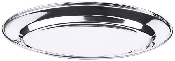 Bratenplatte, oval, flach 25 cm