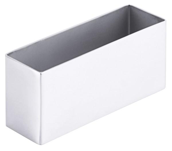 Schaumspeisenform, rechteckig 10 cm x 3 cm