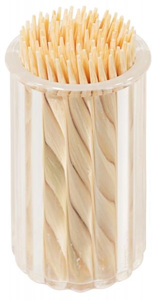 Ersatzbehälter für Zahnstocher aus Kunststoff zu Menage Salz/Pfeffer, Zahnstocher