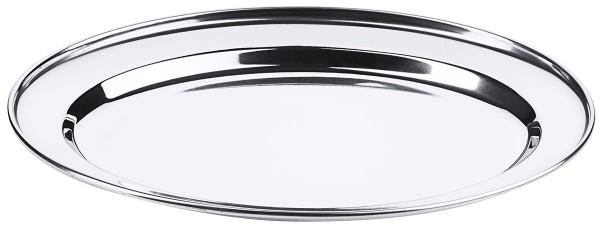 Bratenplatte, oval, flach 30 cm