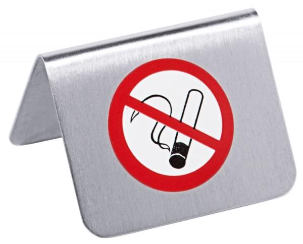 """Nichtraucher-Aufsteller mit 3 cm Aufkleber """"Nichtraucher"""""""