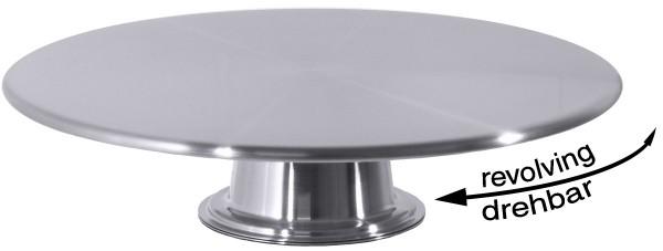 Tortenplatte, drehbar 32 cm