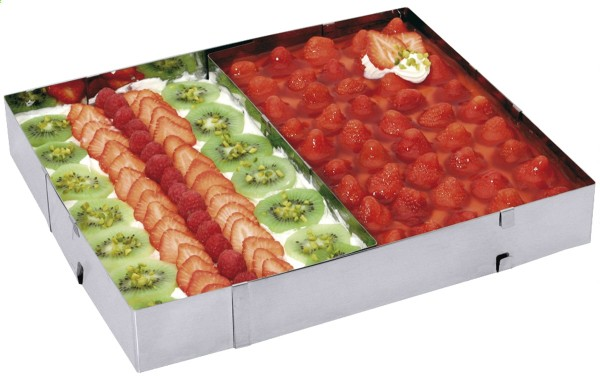Tortenrahmen, rechteckig