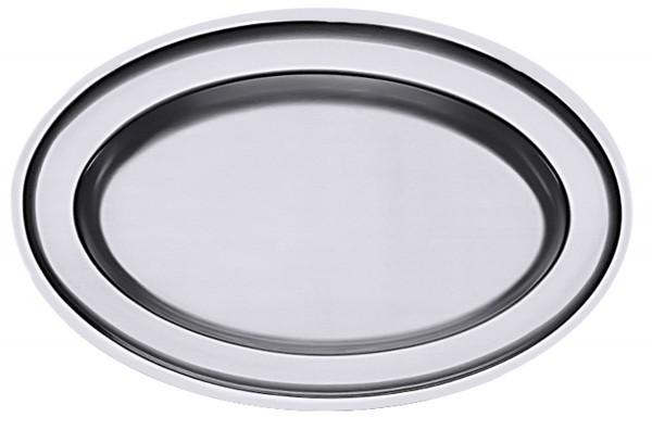 Bratenplatte, oval 31 cm